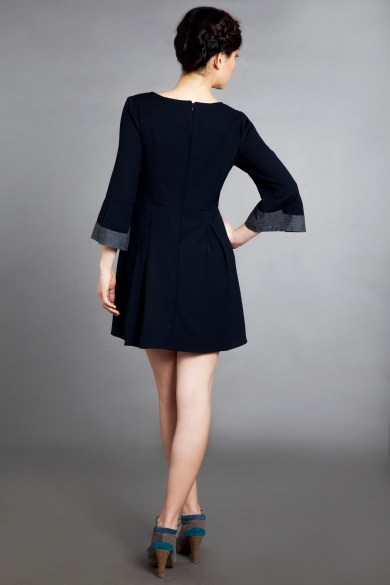 bell sleeve dress fb 3